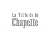 Logo LA TABLE DE LA CHAPELLE teinte de gris