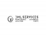 Logo DML SERVICES maintenance dépannage location vente, teinte de gris