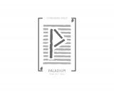 Logo PALADIUM CO WORKING SPACE teinte de gris